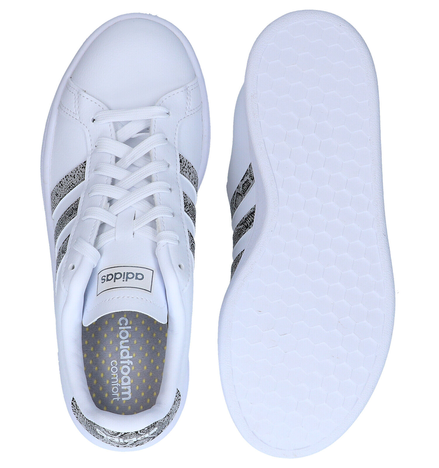adidas Grand Court Witte Sneakers