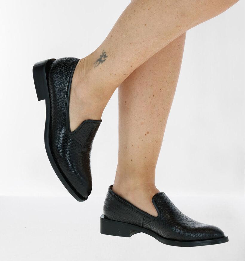 Zinda Zwarte Loafers in leer (283725)