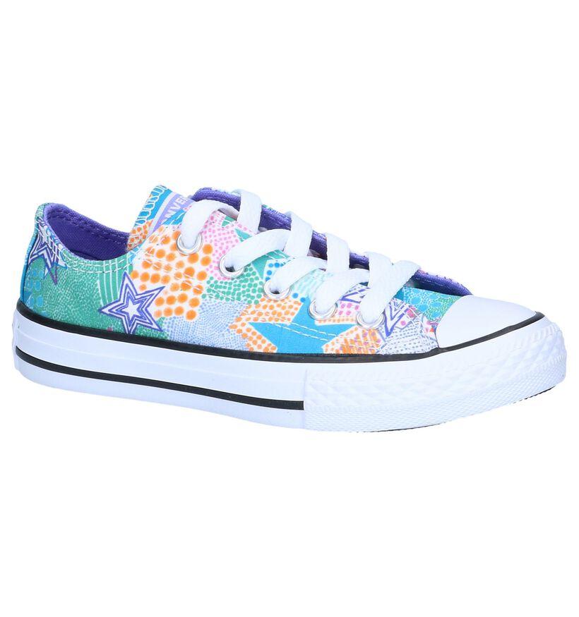 Multicolor Sneakers Converse Chuck Taylor AS in stof (249098)