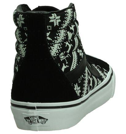 091aaab62e5 Vans SK8-HI Reissue Zwarte Sneakers , Zwart, pdp