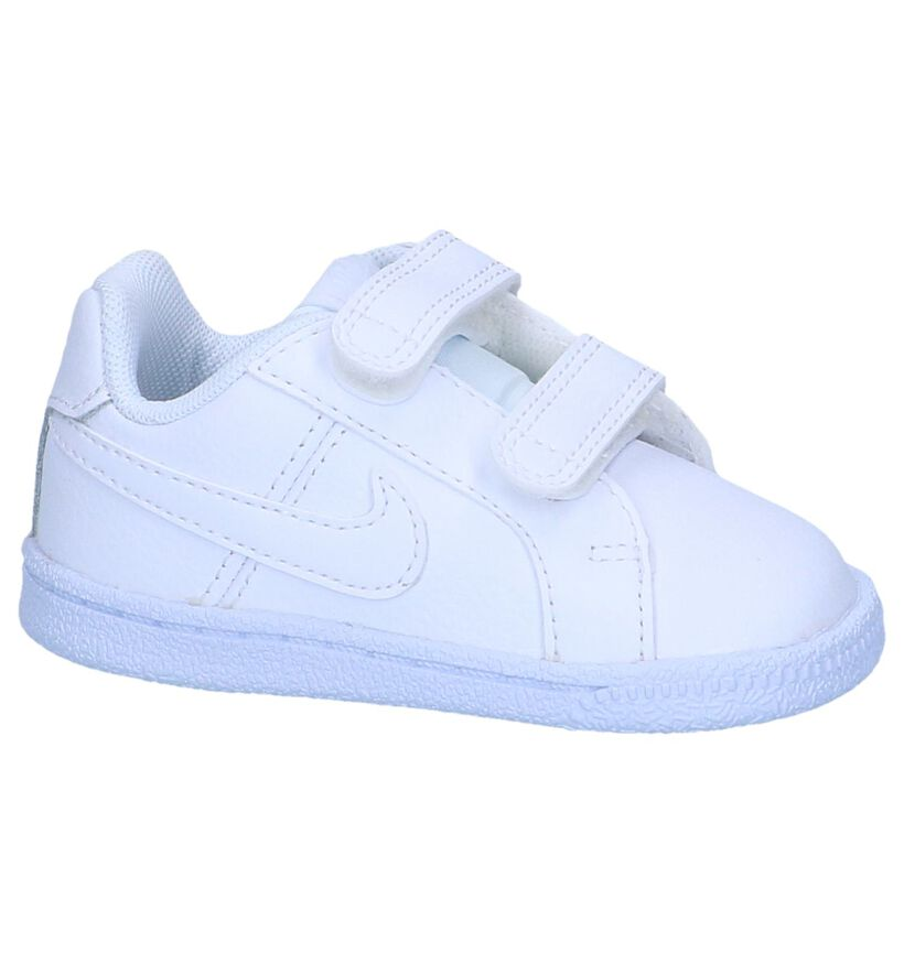 Witte Sneakers Nike Court Royale in kunstleer (249907)