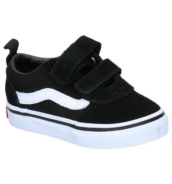 Vans Ward Zwarte Skate Sneakers