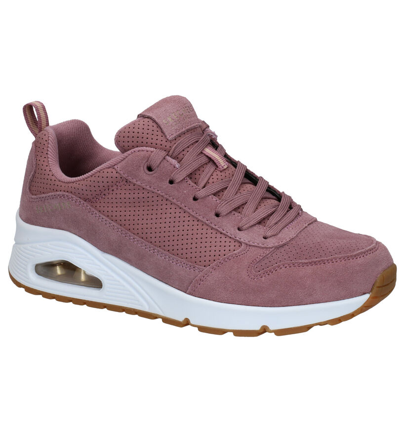 Skechers Eno Two For The Show Roze Sneakers in faux fur (279394)