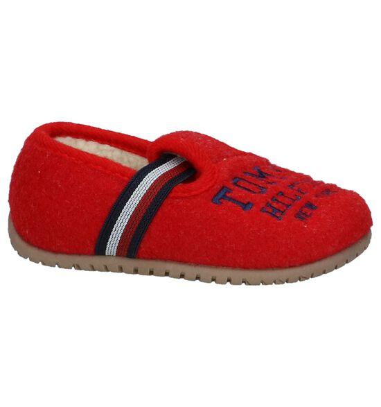 Rode Pantoffels Tommy Hilfiger