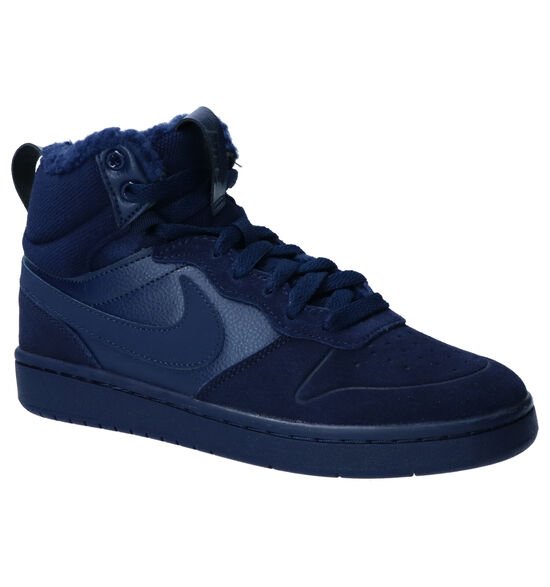 Nike Court Borough Sneakers Blauw