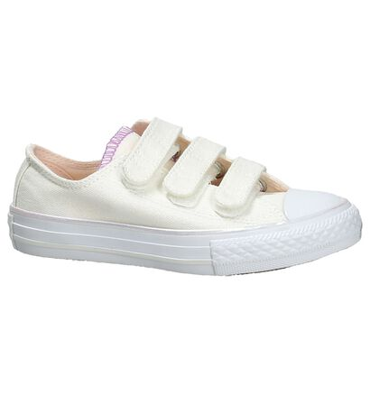 Converse Chuck Taylor All Star 3V Ecru Sneakers in stof (191276)