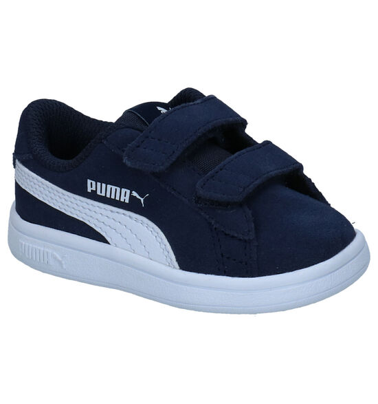 Puma Smash Blauwe Sneakers