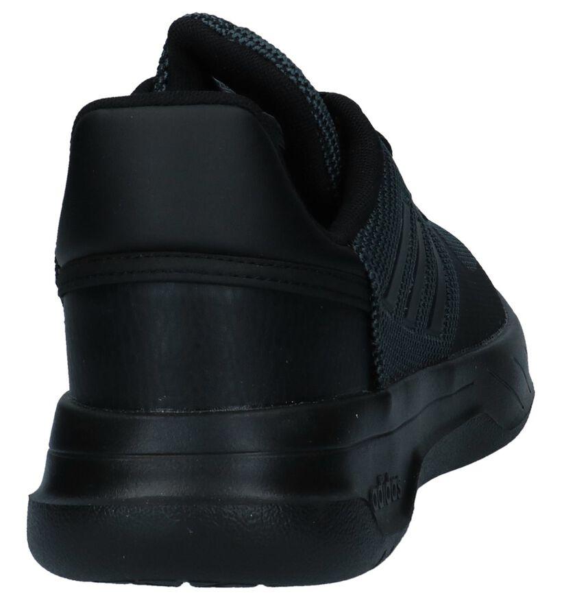 Zwarte Sneakers adidas Fusion Flow in stof (237103)