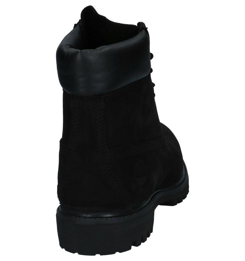 Timberland Zwarte 6 Inch Premium Boots in nubuck (278956)