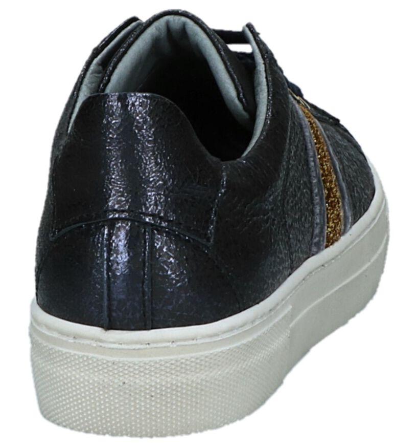 Donker Blauwe Sneakers Hampton Bays by Torfs Hop in leer (227204)