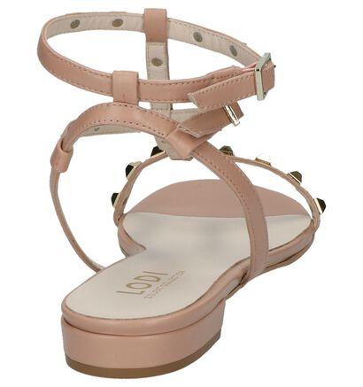 Lodi Bono Nude Roze Sandalen in leer (217763)