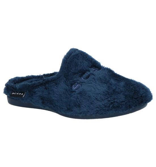 Scapa Blauwe Pantoffels