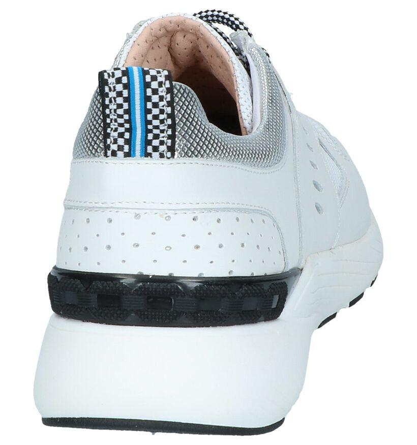 Witte Sneakers Maripé in leer (248834)