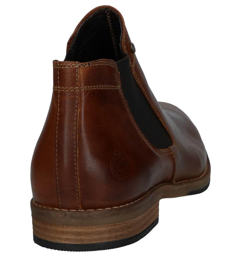 Cognac Bullboxer Chelsea Boots in leer (239049)