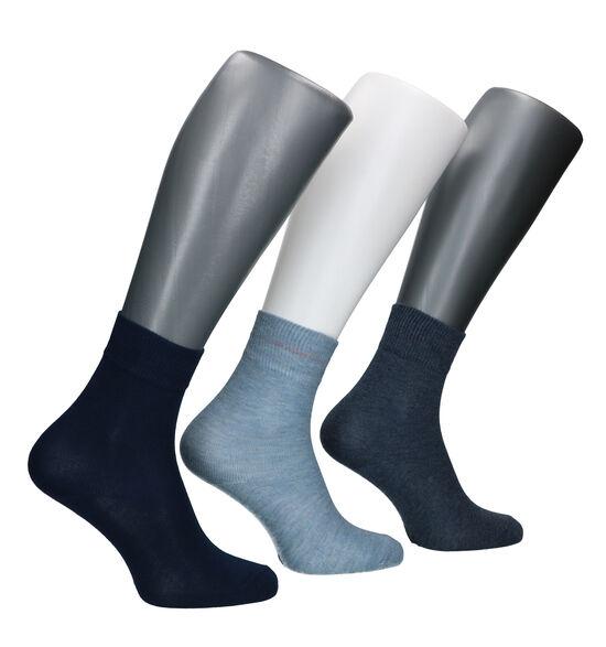 s.Oliver Blauwe Sokken - 3 Paar