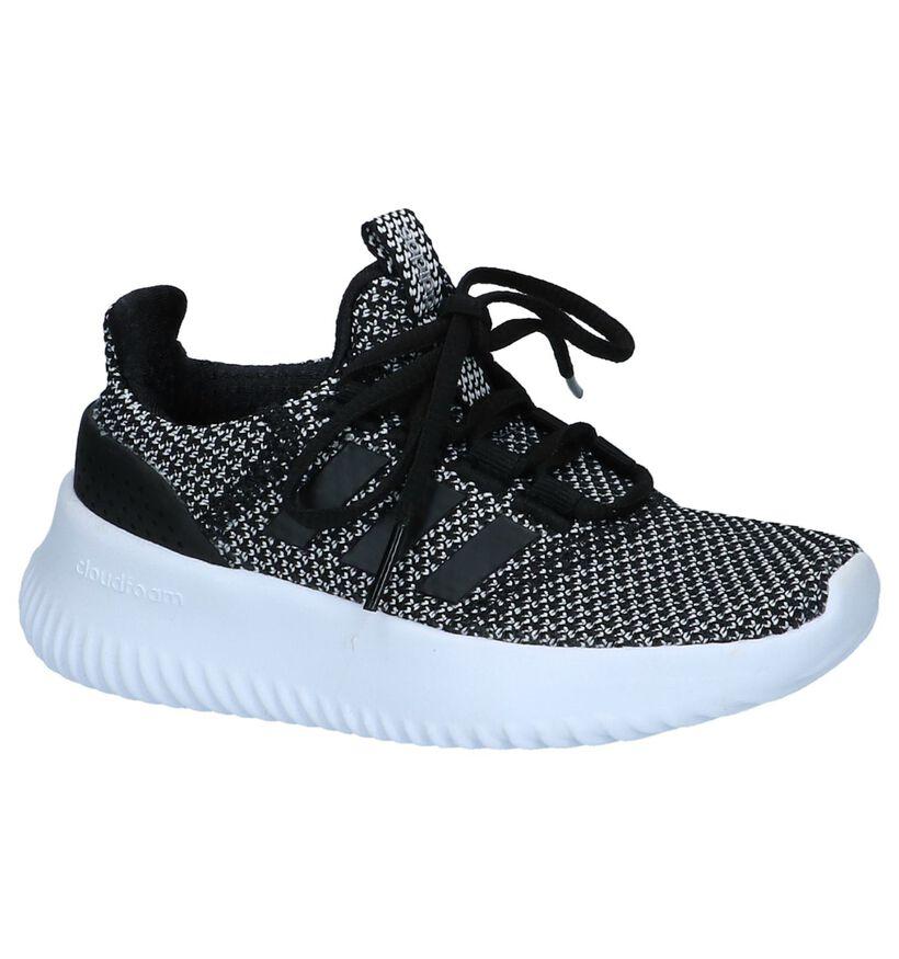 Zwarte Runner Sneaker Cloudfoam Ultimate adidas in stof (237021)
