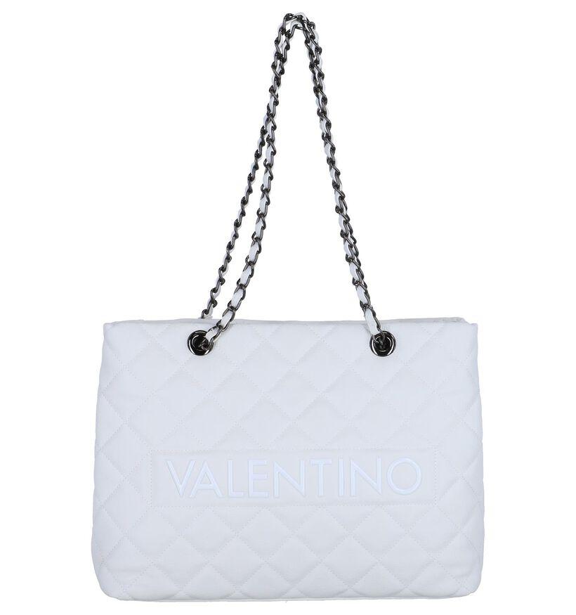 Witte Schoudertas Valentino Handbags Licia in kunstleer (248374)