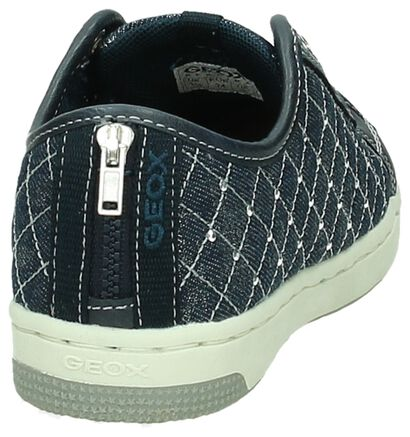 Grijze Geox Slip-on Sneaker , Blauw, pdp