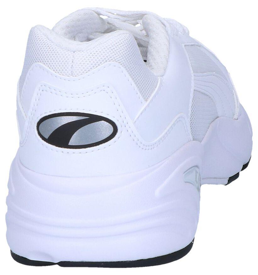 Witte Sneakers Puma in stof (239358)