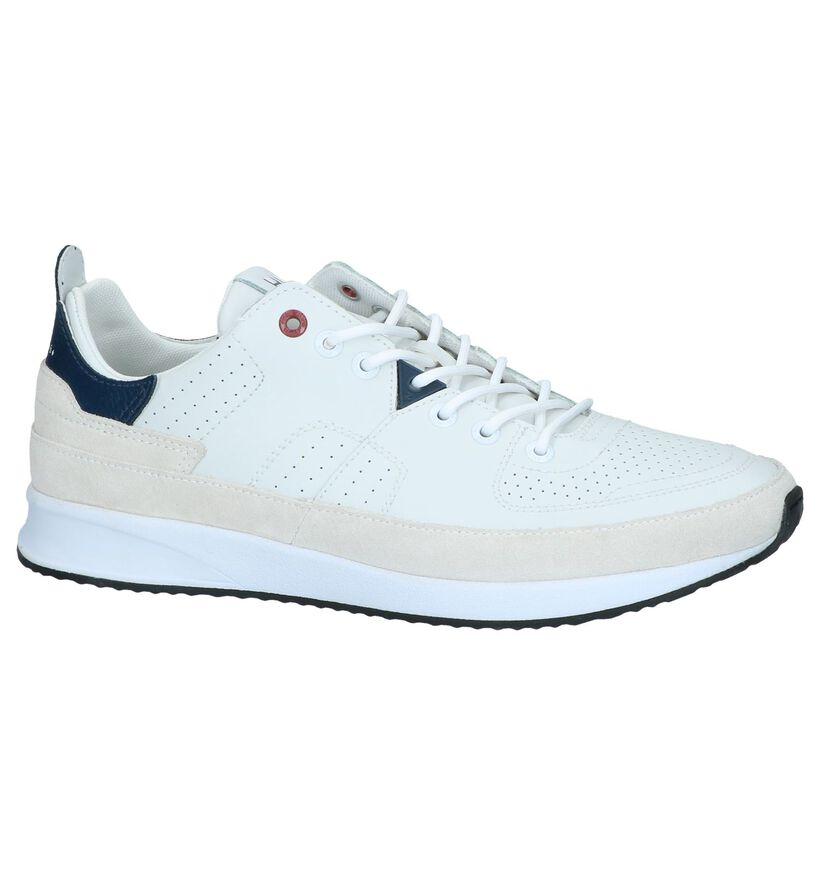 Ecru Casual Veterschoenen Hub Zone in daim (242667)