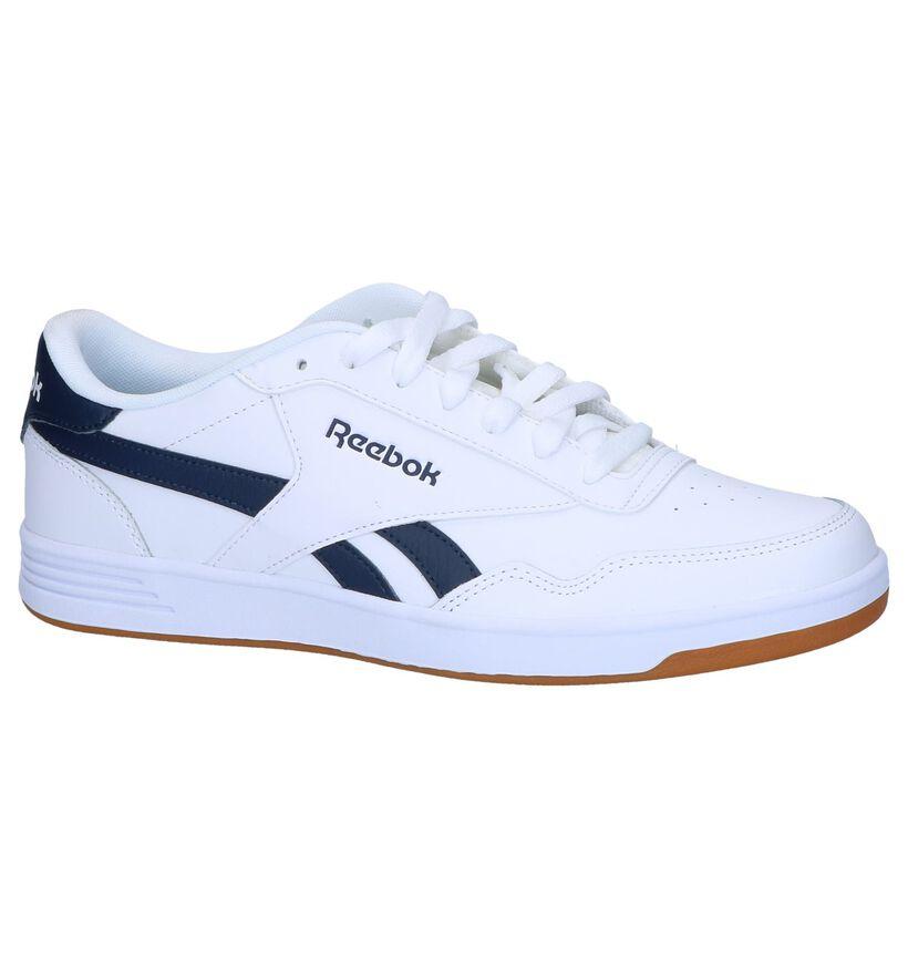 Reebok Royal Techqu Witte Sneakers in kunstleer (276495)