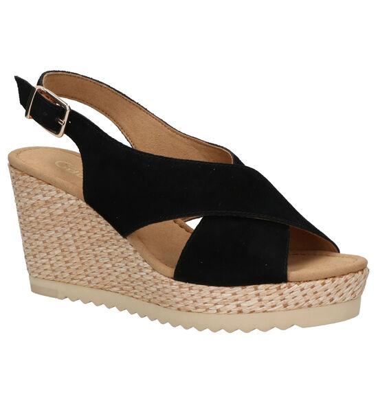 Gabor Zwarte Sandalen