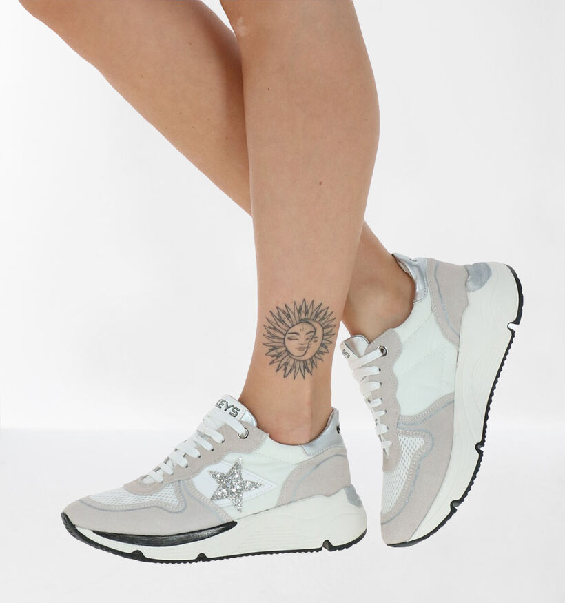Keys Witte Sneakers in leer (282852)