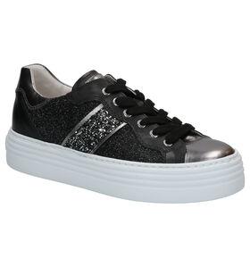 Zwarte Sneakers NeroGiardini in leer (270589)