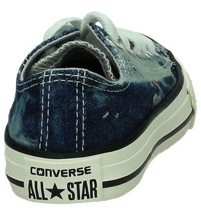 Zwarte Sneakers Converse Chuck Taylor AS OX in stof (238427)