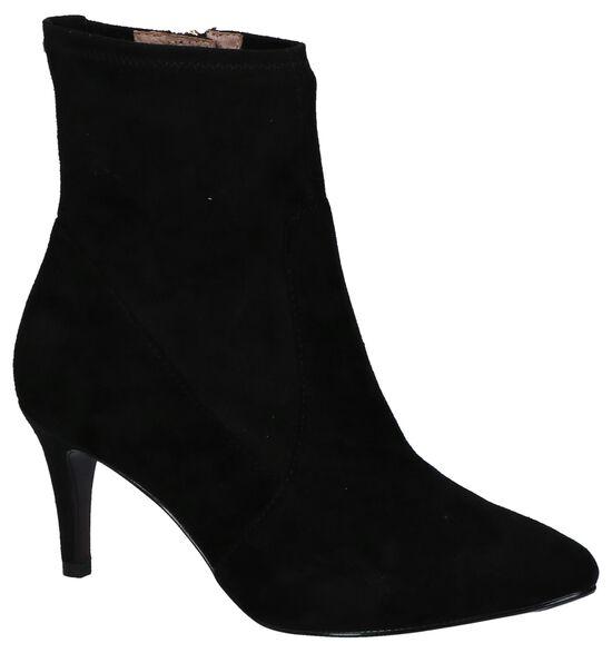 Tamaris Heart & Sole Zwarte Korte Laarzen