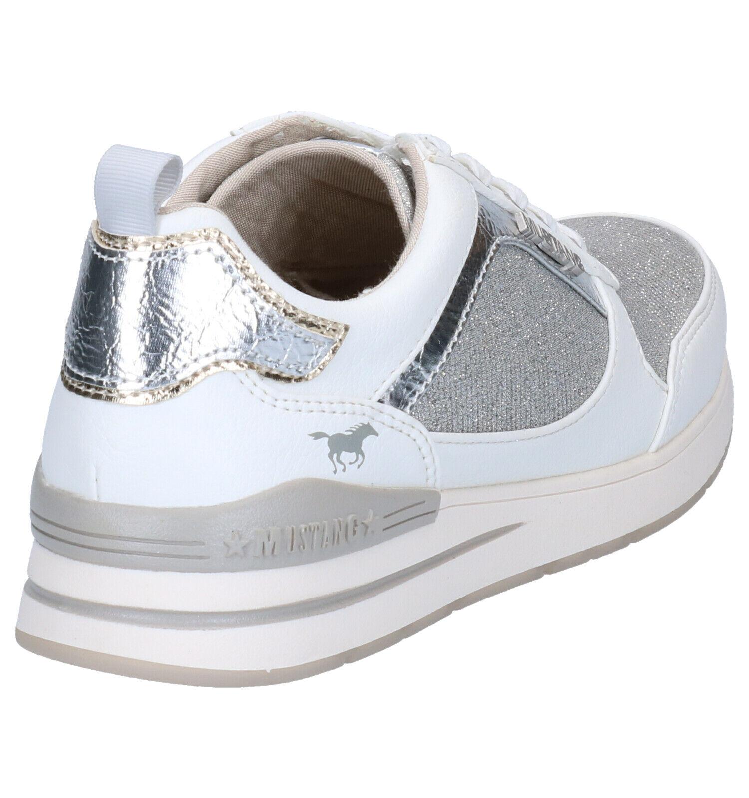Mustang Witte Sneakers
