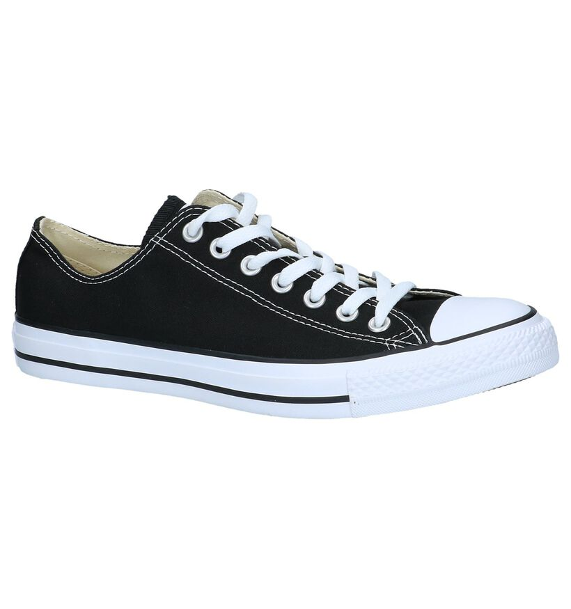 Donkerblauwe Sneakers Converse Chuck Taylor AS OX in stof (238384)