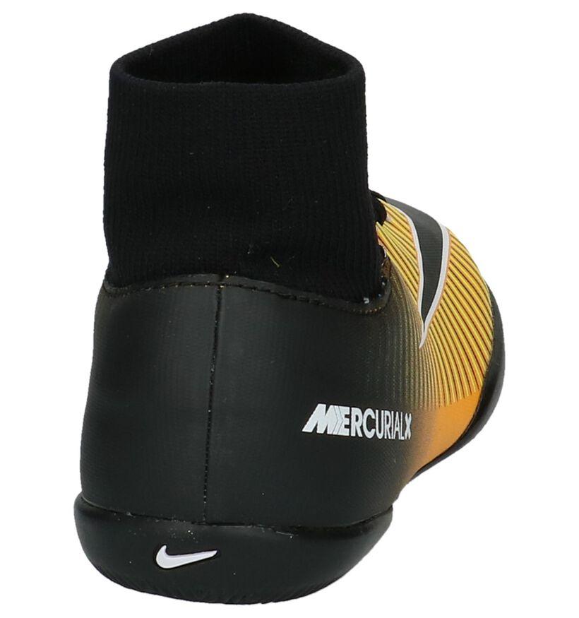 Nike Mercurialx Victory Bruine Sportschoenen in kunstleer (200172)