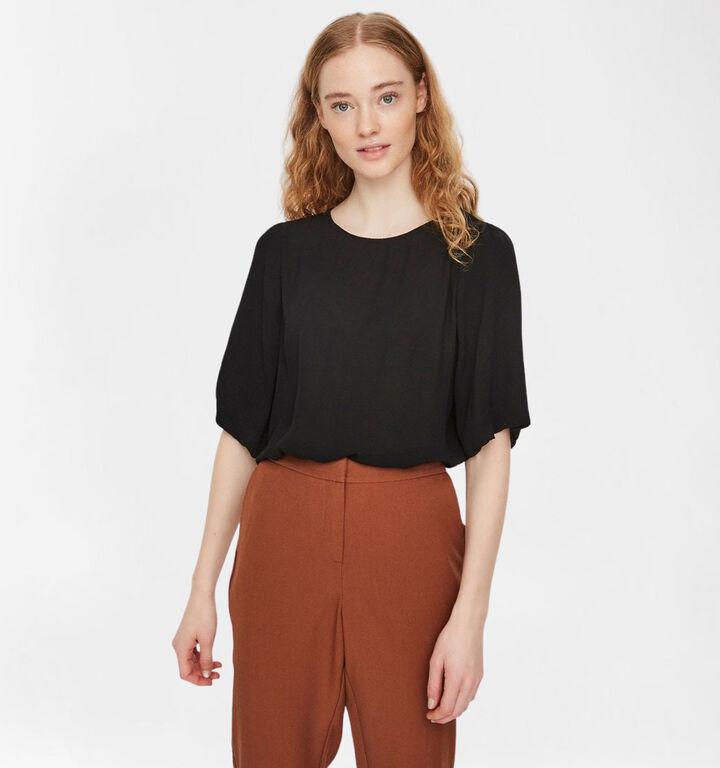 Vero Moda Isabelle Zwarte Blouse