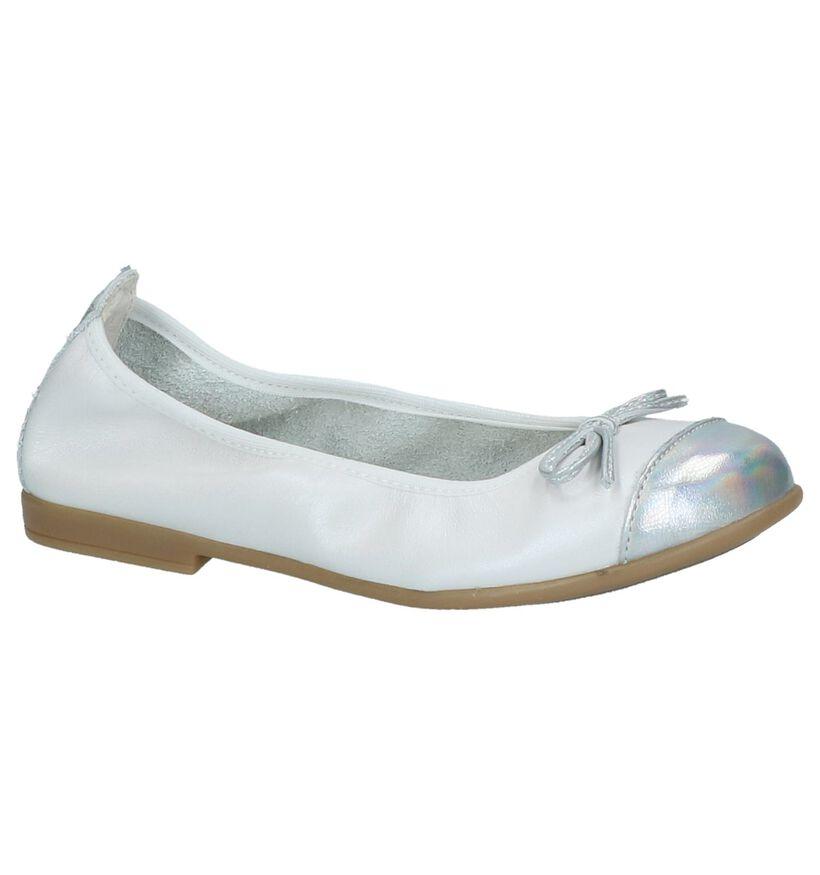 Witte Klassieke Ballerina Bopy Sarisa in leer (211711)