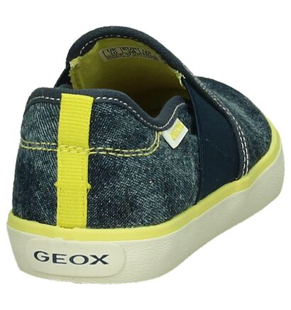 Instappers Geox Blauw Jeans in stof (190645)