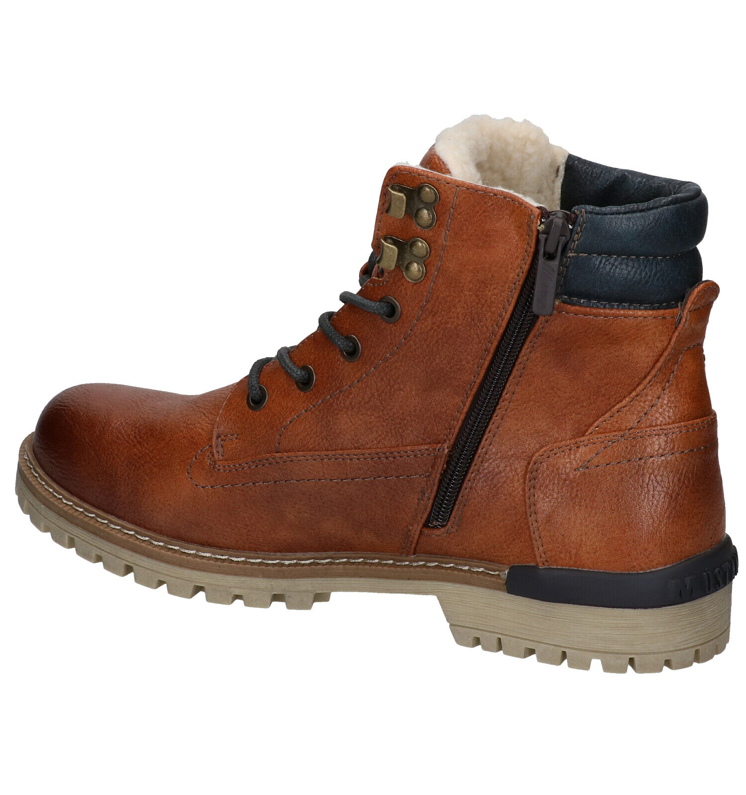 Mustang Cognac Boots