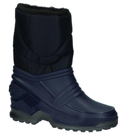 Donkerblauwe Snowboots Henkelman, Blauw, pdp