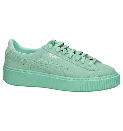 Puma Platform Reset Turquoise Sneakers, Turquoise, pdp