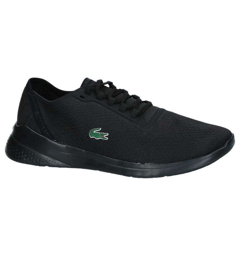 Zwarte Sneakers Lacoste LT Fit in kunstleer (239374)