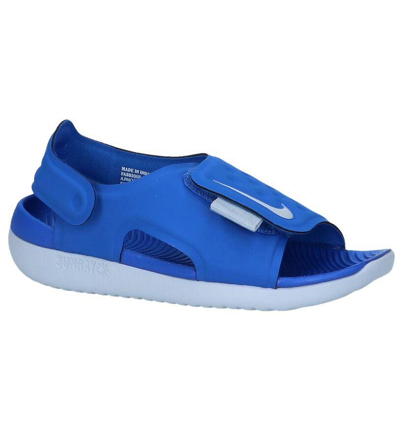 Blauwe Watersandalen Nike Sunray Adjust in kunststof (237874)