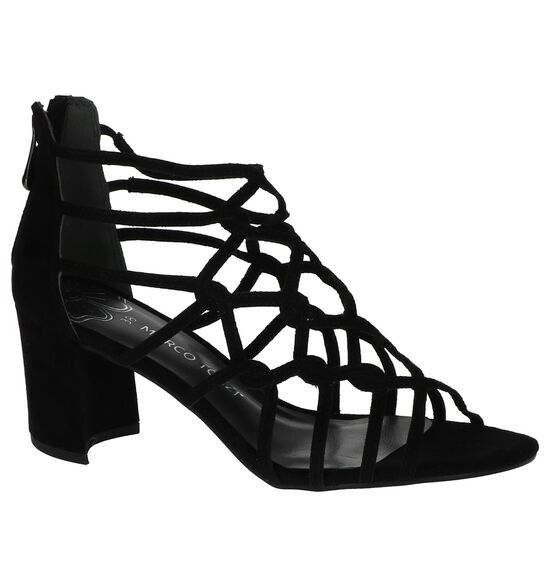 Zwarte Sandalen Marco Tozzi