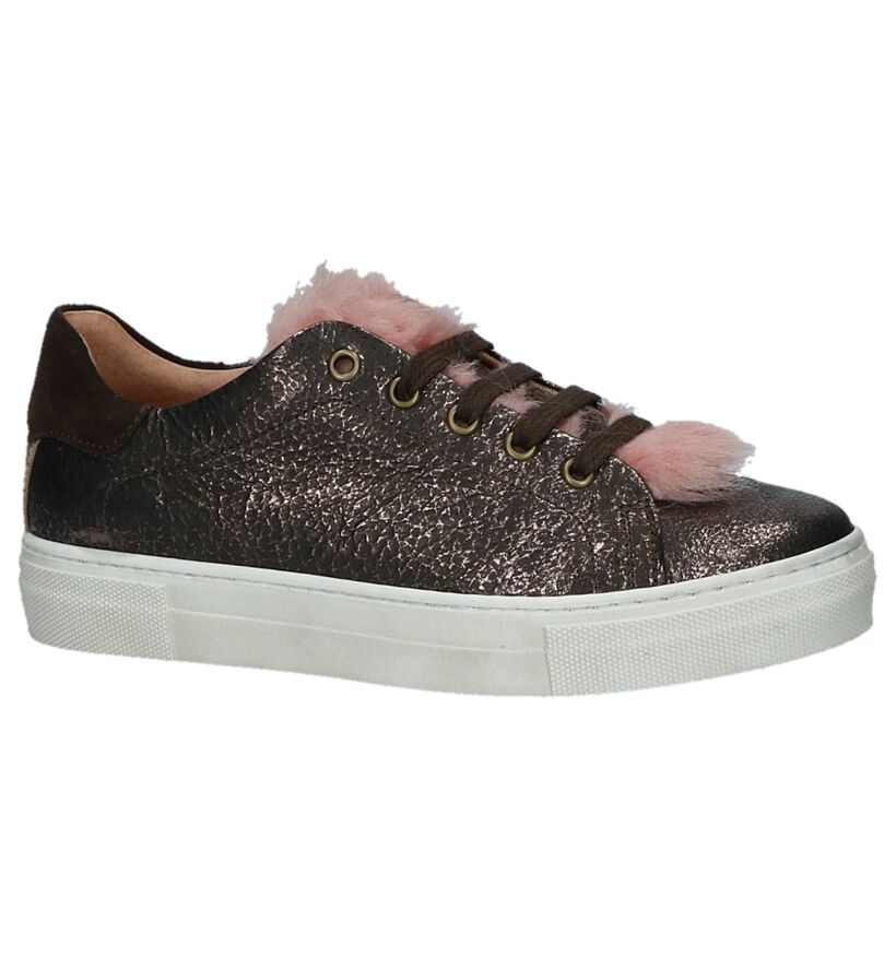 Bronzen Sneakers Hampton Bays by Torfs Hop in leer (231985)