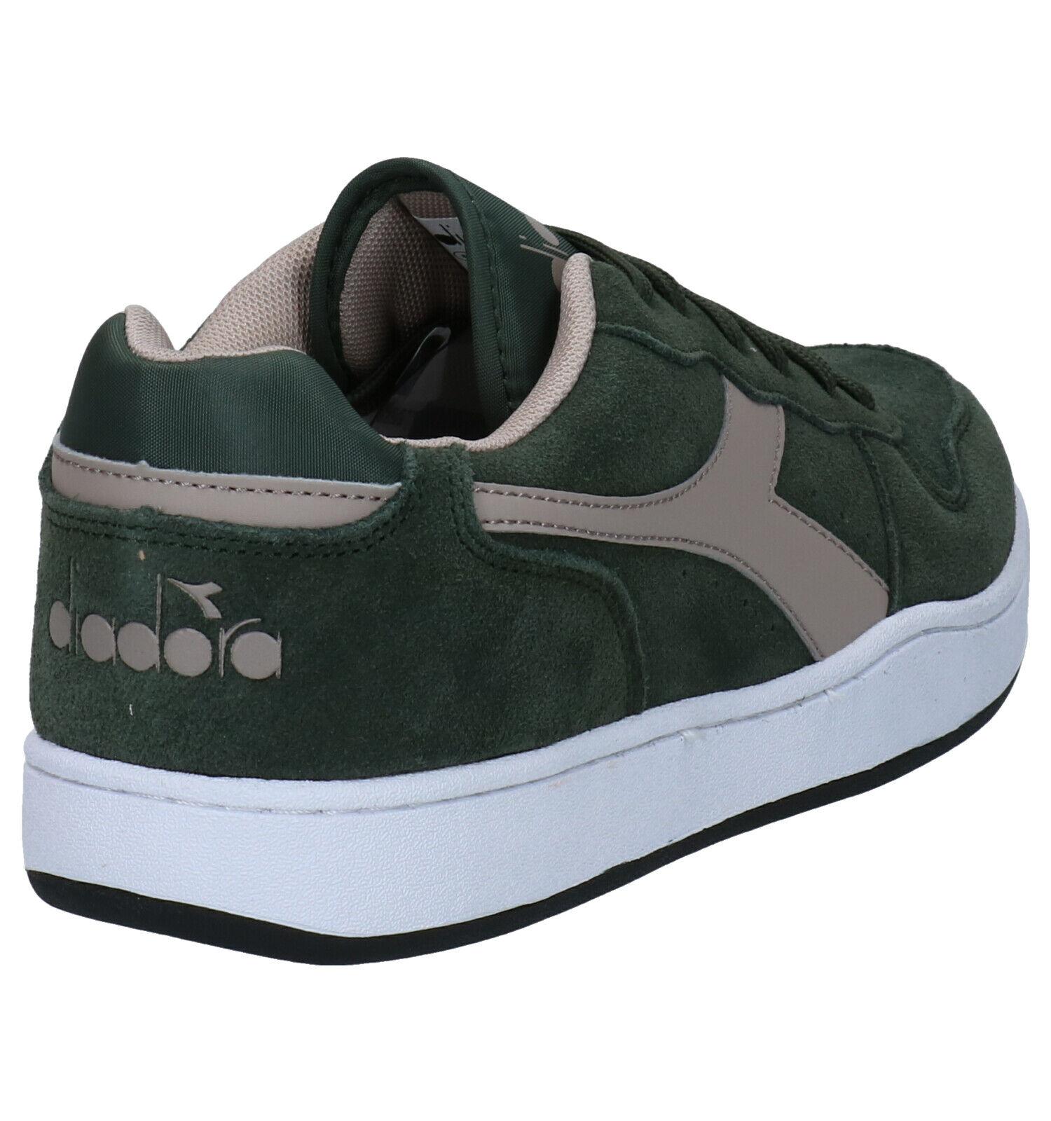 Diadora Playground Kaki Sneakers