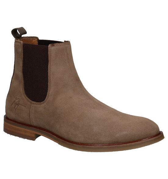 Bullboxer Beige Chelsea Boots