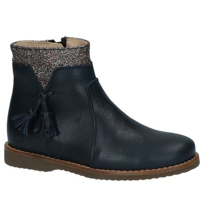 Beberlis Donkerblauwe Geklede Boots, Blauw, pdp