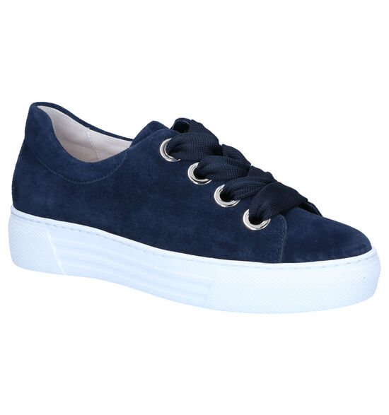Gabor OptiFit Blauwe Sneakers