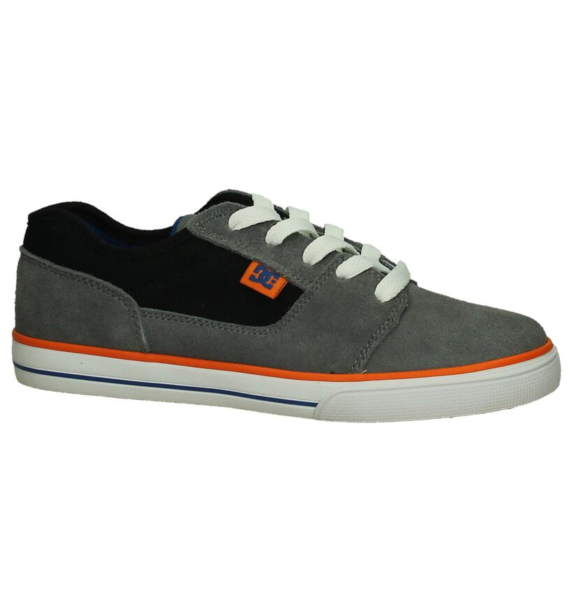Grijze Skater DC Shoes Tonik in stof (198604)