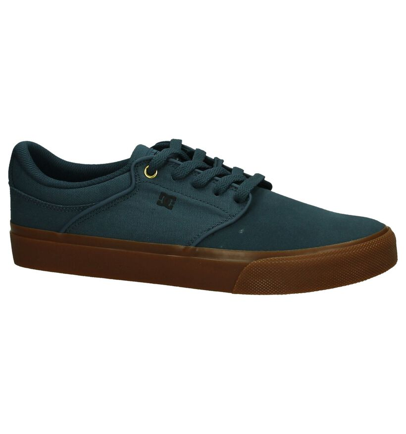Blauwe Skater DC Shoes Mikey Taylor in stof (198607)
