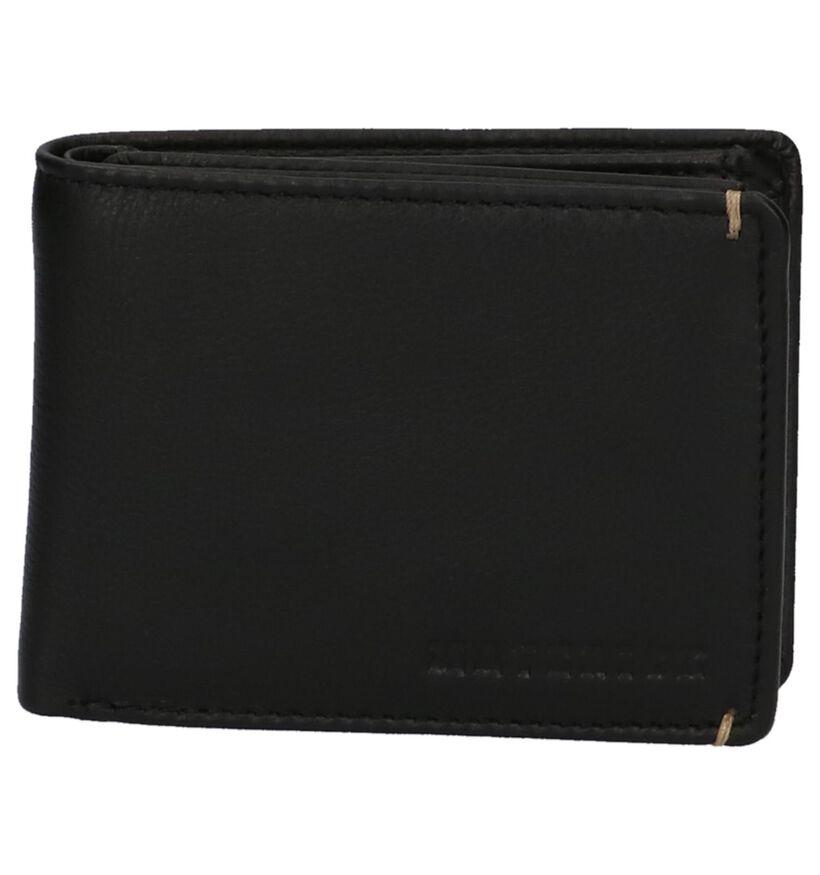 Maverick Zwarte Portefeuille in leer (273947)